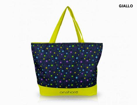Shopper stelle con dettagli fluo_N