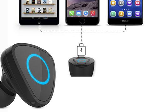 Smart Car Charger Holder Mini Bluetooth_N