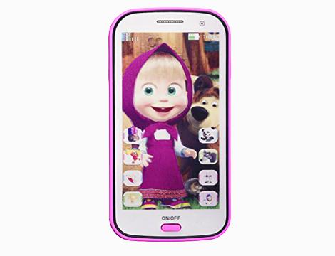 Smartphone giocattolo Masha e Orso