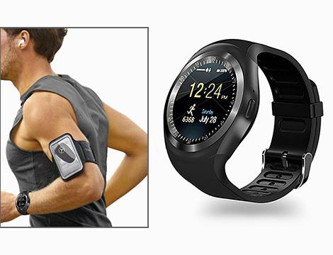 Smartwatch e fascia braccio_N
