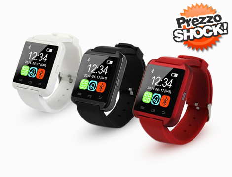 Smartwatch bluetooth Apple e Android