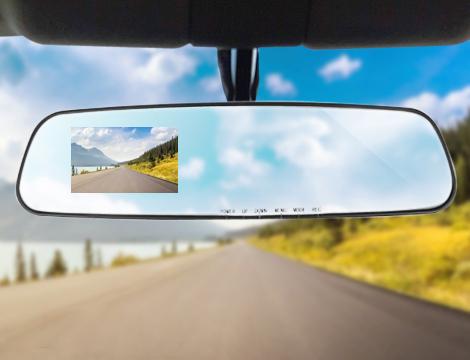 Specchietto camera HD + SD card