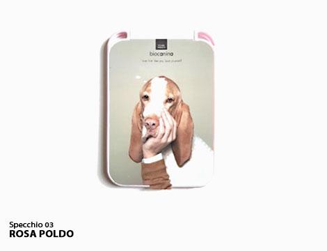 Specchietto da borsa con animali_N
