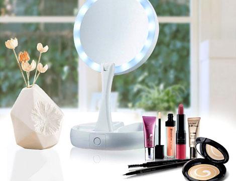 Doppio specchio per make up_N
