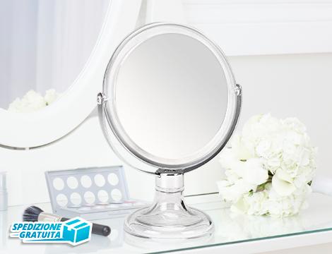 specchio da tavolo per make