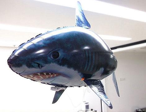 offerta shopping squalo volante radiocomandato groupalia