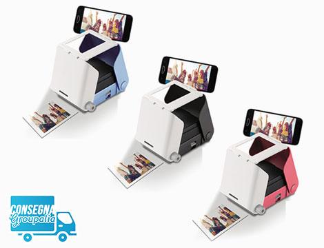 Stampante fotografica per smartphone KiiPix Tomy