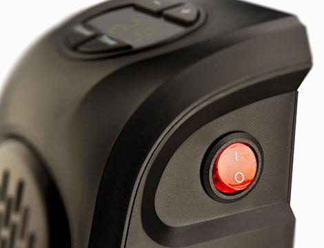 Stufa elettrica Space Heater con telecomando