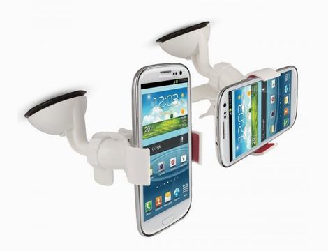 Supporto auto a pinza per smartphone