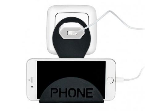 Supporto smartphone da parete GRATIS