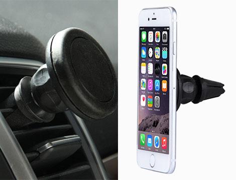 Supporto smartphone magnetico auto