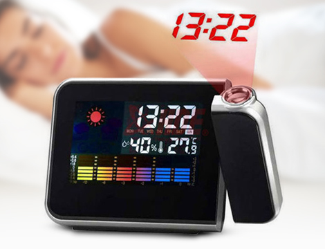 Sveglia con proiettore LED
