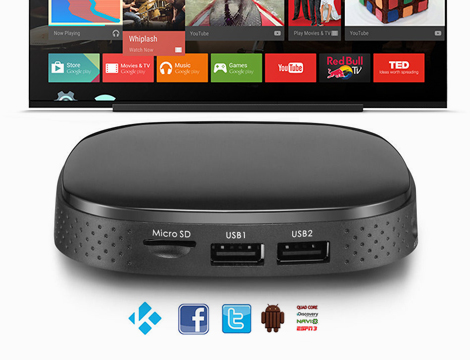 Tv box android HD