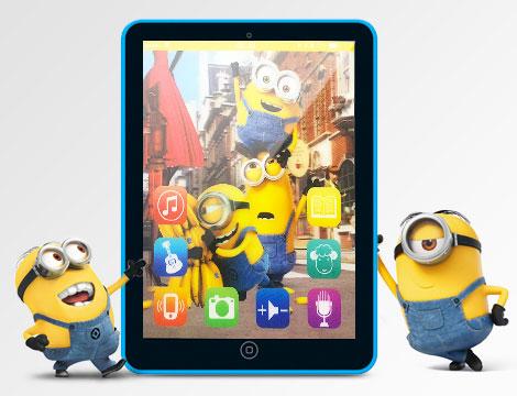Tablet Minions Tablet Frozen_N