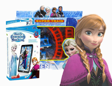 Tablet e Super train Frozen con sorpresa_N