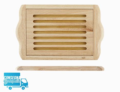 Tagliere per pane in legno Home