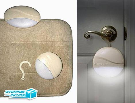 Tappeto con sistema di illuminazione_N