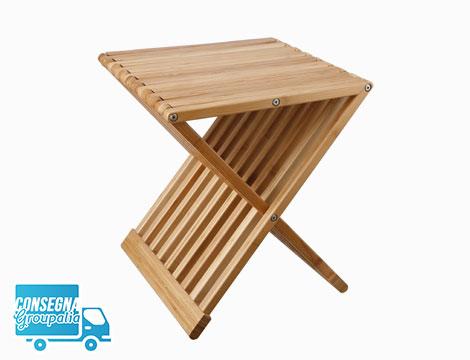Tavolino sgabello Tomasucci