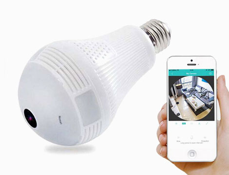 Telecamera Lampadina Wi-Fi_N