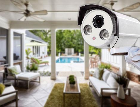 Telecamera di videosorveglianza 2 LED_N