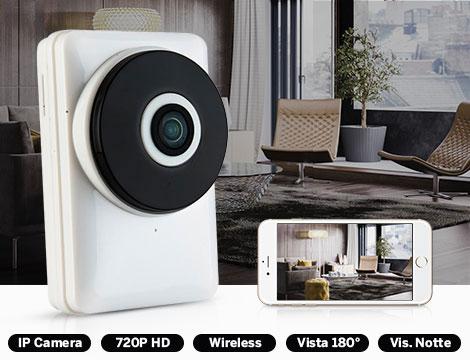 Telecamera Panoramic HD wireless