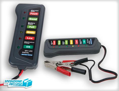 Tester misura batteria auto