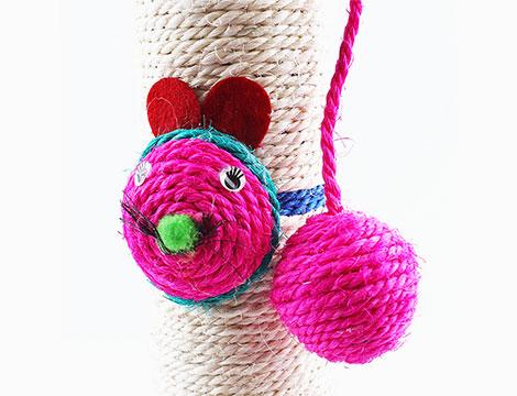 Tiragraffi con topo o pallina_N