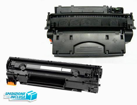 Toner universale nero compatibile per HP e Canon