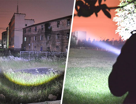 Torcia LED 54000 LUMEN PORTATILE