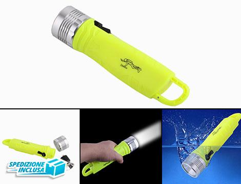 Torcia Elettrica Fluo Waterproof_N