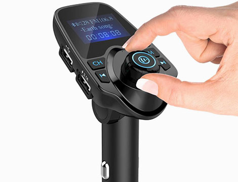Trasmettitore FM Bluetooth