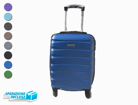 Trolley cabin bag 4 ruote