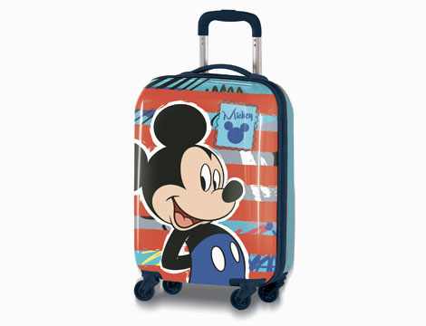 Trolley in ABS da cabina Mickey Mouse