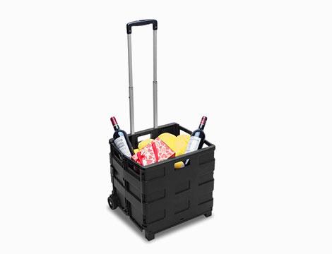Trolley portaspesa pieghevole_N