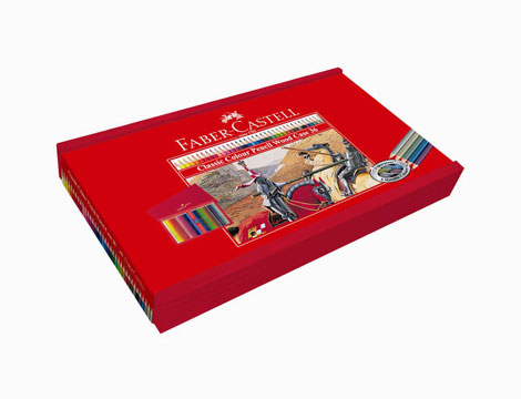 Valigetta Faber-Castell 36 matite colorate classiche