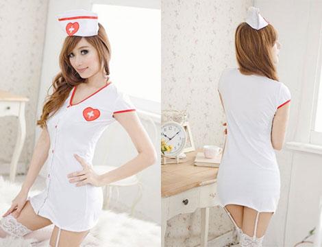Vestito infermiera sexy