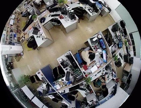 Videocamera Sorveglianza Fisheye_N