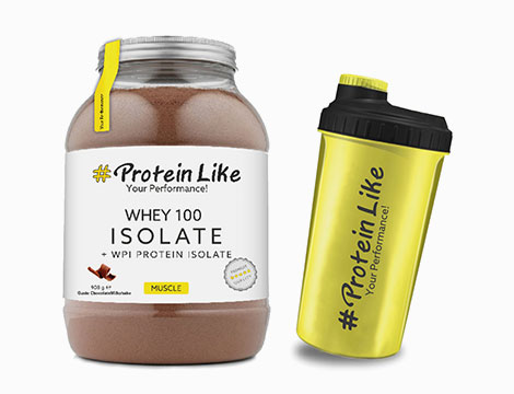 Whey 100 isolate+ WPI protein 908 G + Shaker_N
