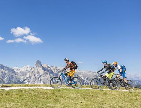 escursione in bici nella valle Levico Terme