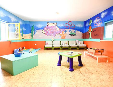 Hotel Kursaal Bellaria area bambini