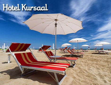 Hotel Kursaal Bellaria la spiaggia