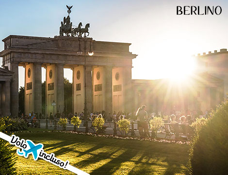 Berlino experience: volo + hotel a 119euro