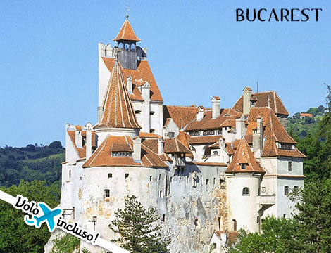 Bucarest volo e hotel