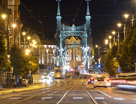 Budapest hotel e volo da Roma