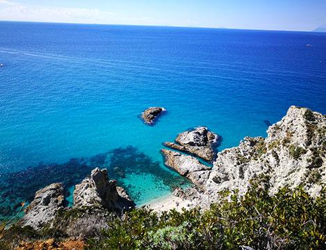 Vacanza a Capo Vaticano sulla costa tirrenica della Calabria