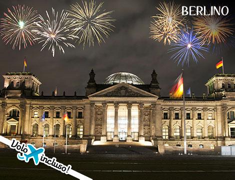 Capodanno a Berlino volo hotel