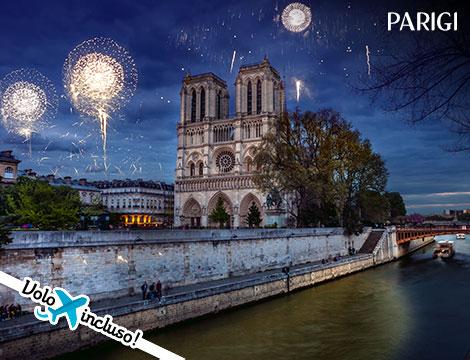 Capodanno a Parigi volo  hotel