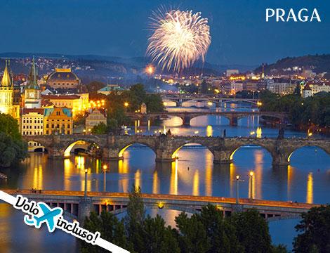 Capodanno a Praga volo hotel
