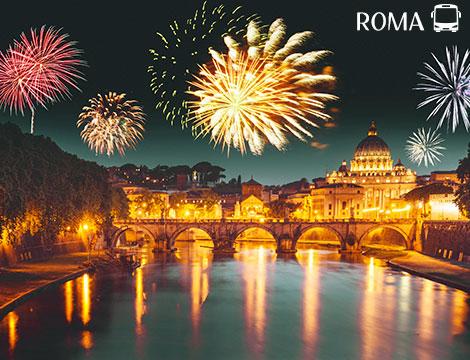 Capodanno con tour in bus di Roma