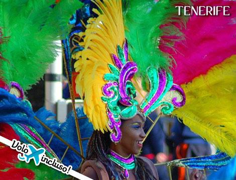 Carnevale a Tenerife: volo A/R + hotel 4 stelle